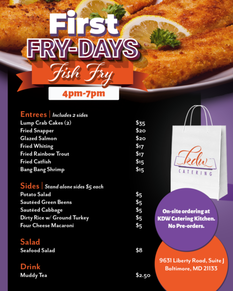 FIRST FRY-DAYS FISH FRY